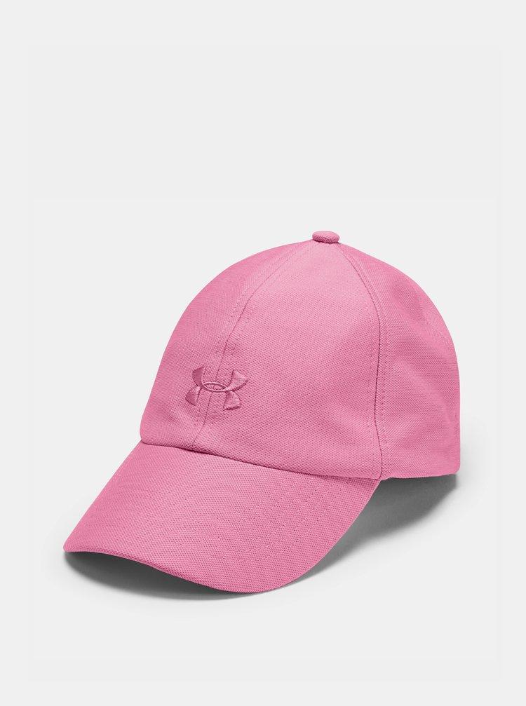 Růžová dámská kšiltovka Play Up Under Armour