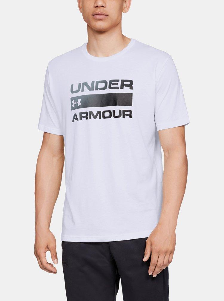 Bílé pánské tričko Team Issue Wordmark Under Armour