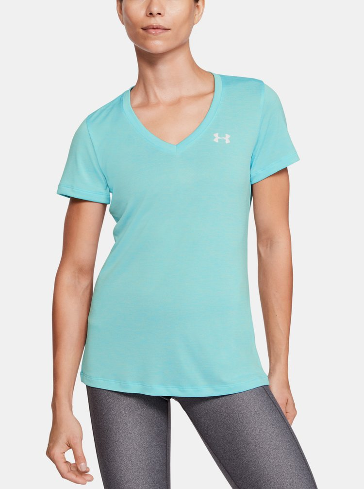 Modré dámské tričko Under Armour