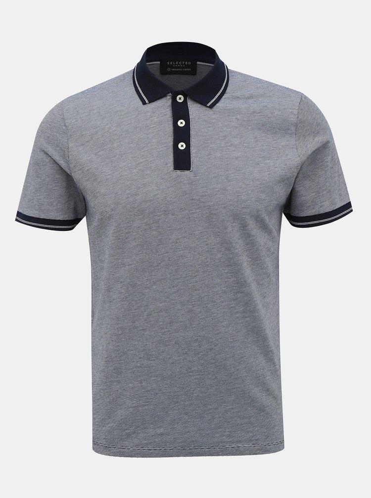 Tmavě modré polo tričko Selected Homme Joe
