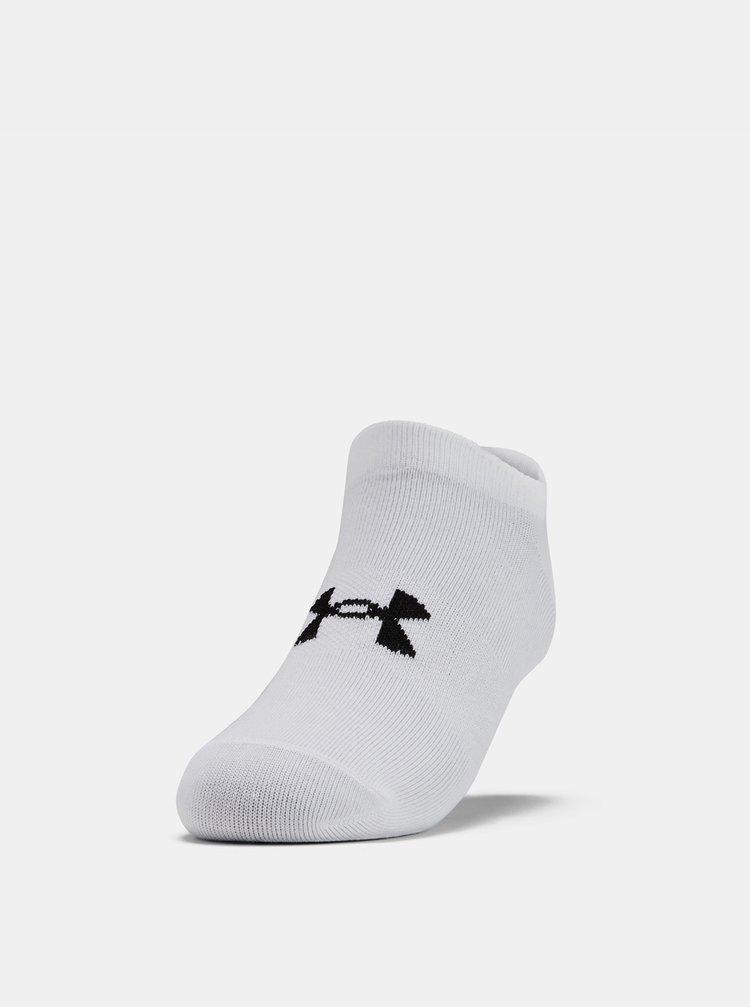 Sada šesti bílých dámských ponožek Essential Under Armour