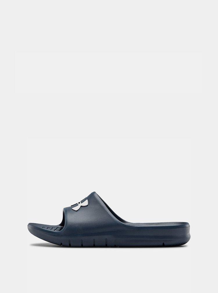 Modré pánské pantofle Core Under Armour