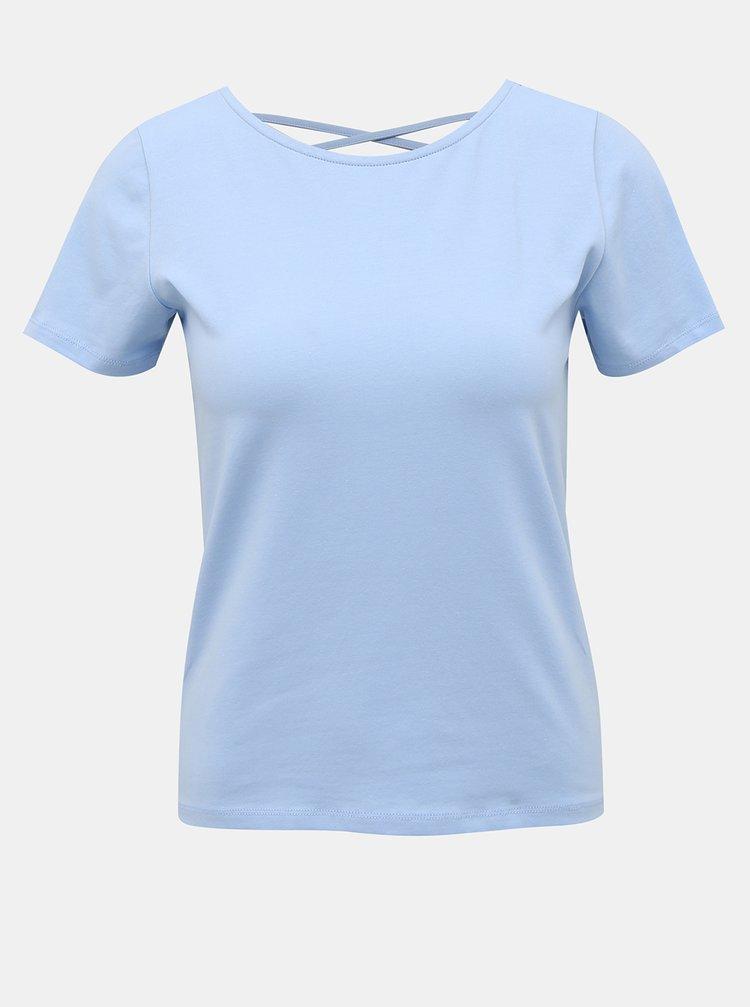 Světle modré tričko ONLY Mathilde