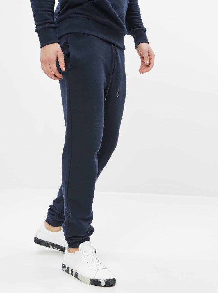 Tmavě modré pánské basic tepláky ZOOT Samuel