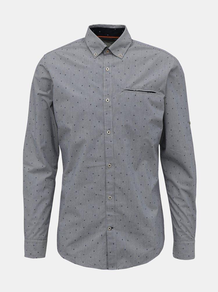 Camasi casual pentru barbati Jack & Jones - gri