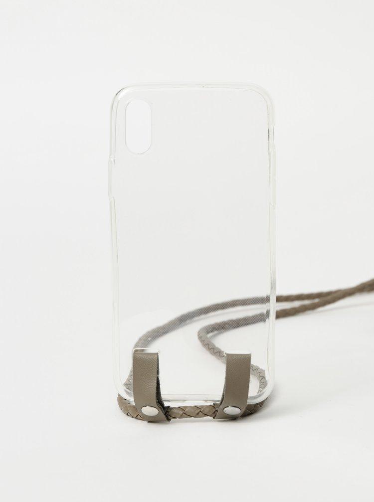 Transparentní obal na Iphone X Haily´s Carry