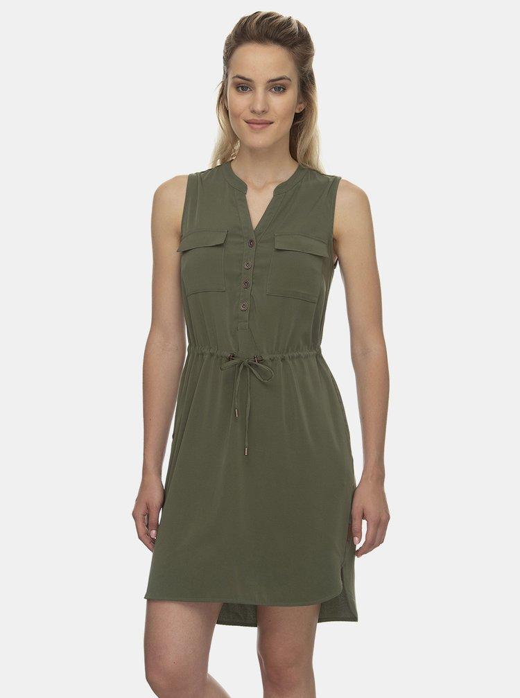 Zelené šaty Ragwear Roisin