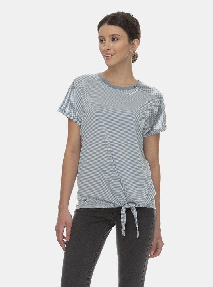 Modré pruhované tričko Ragwear Bolivia