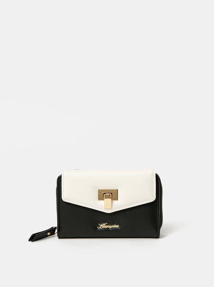 Bielo-čierna peňaženka Hampton