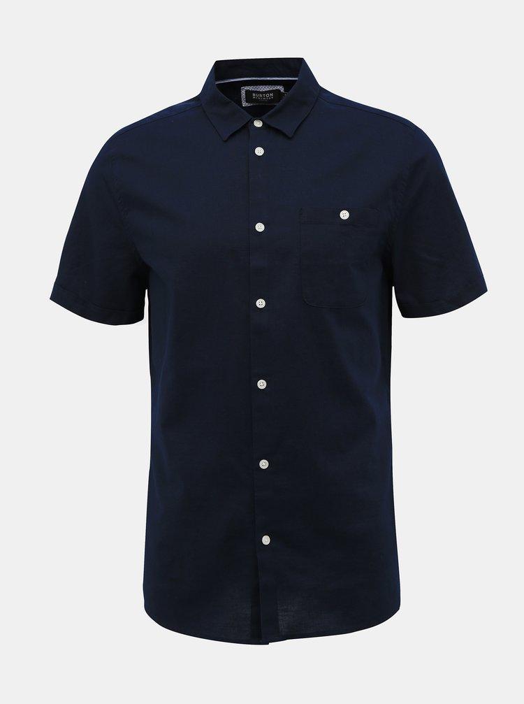 Tmavě modrá košile Burton Menswear London