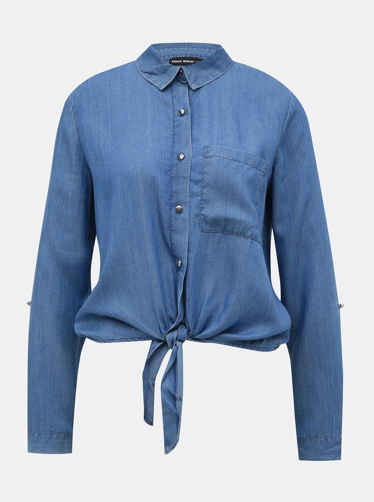 Modrá košile TALLY WEiJL