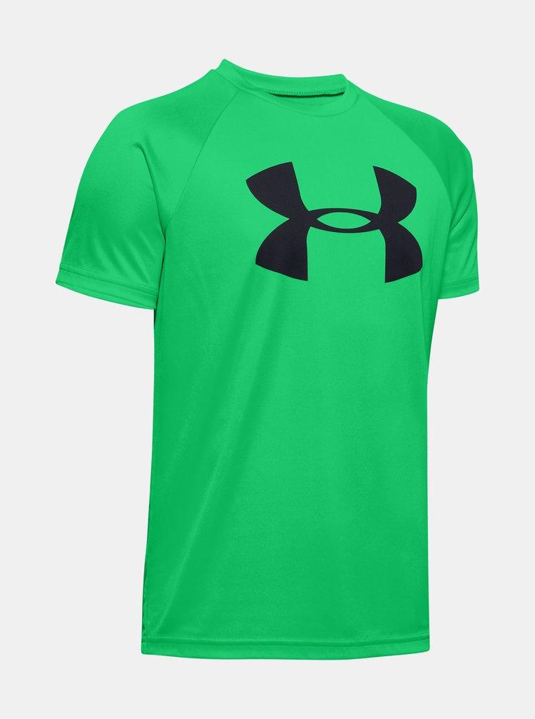 Zelené klučičí tričko Under Armour
