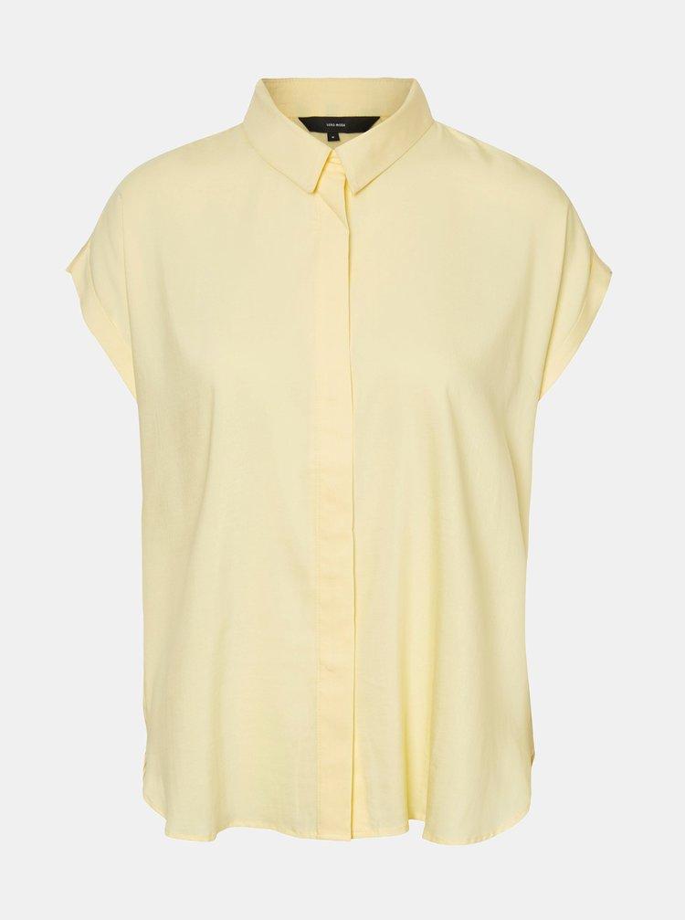 Žltá košeľa VERO MODA Tanya