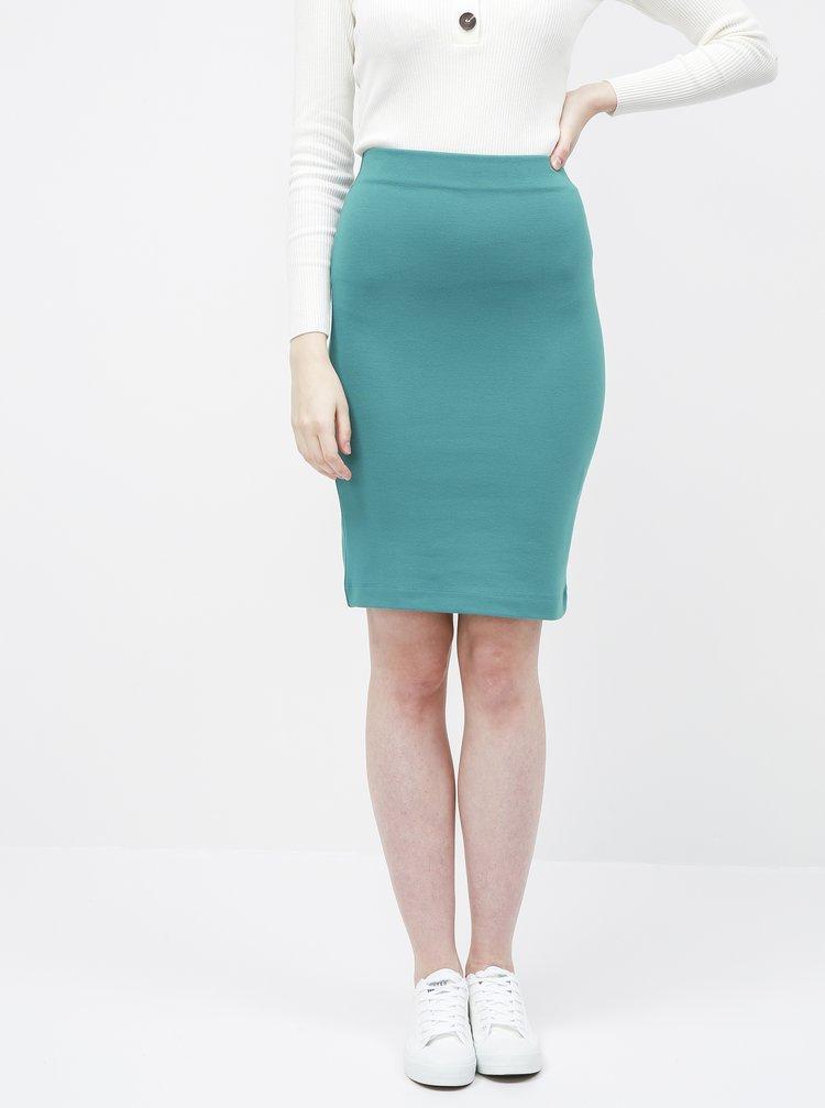 Petrolejová pouzdrová sukně ZOOT Victoria