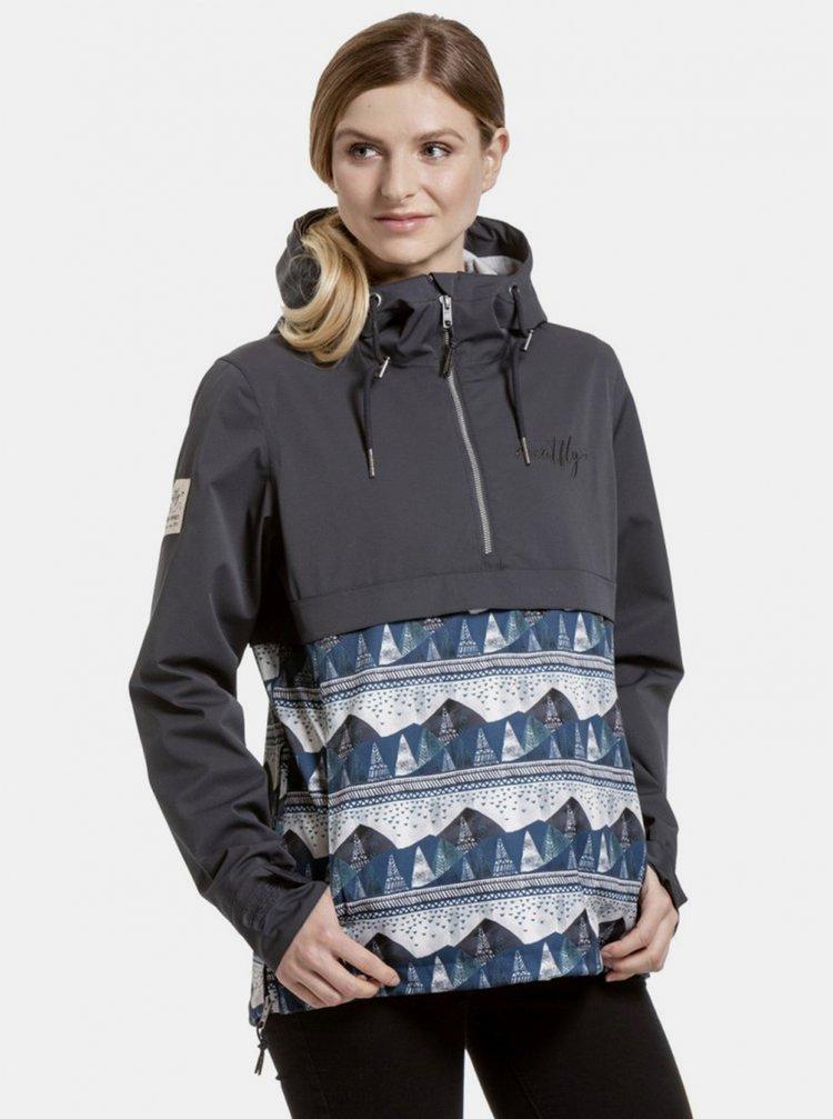 Jachete impermeabile si pelerine de ploaie pentru femei MEATFLY - gri