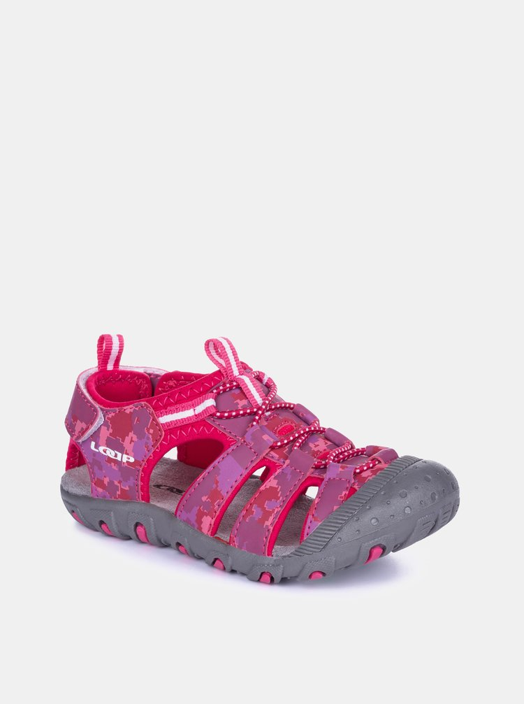 Růžové holčičí sandály LOAP Dopey