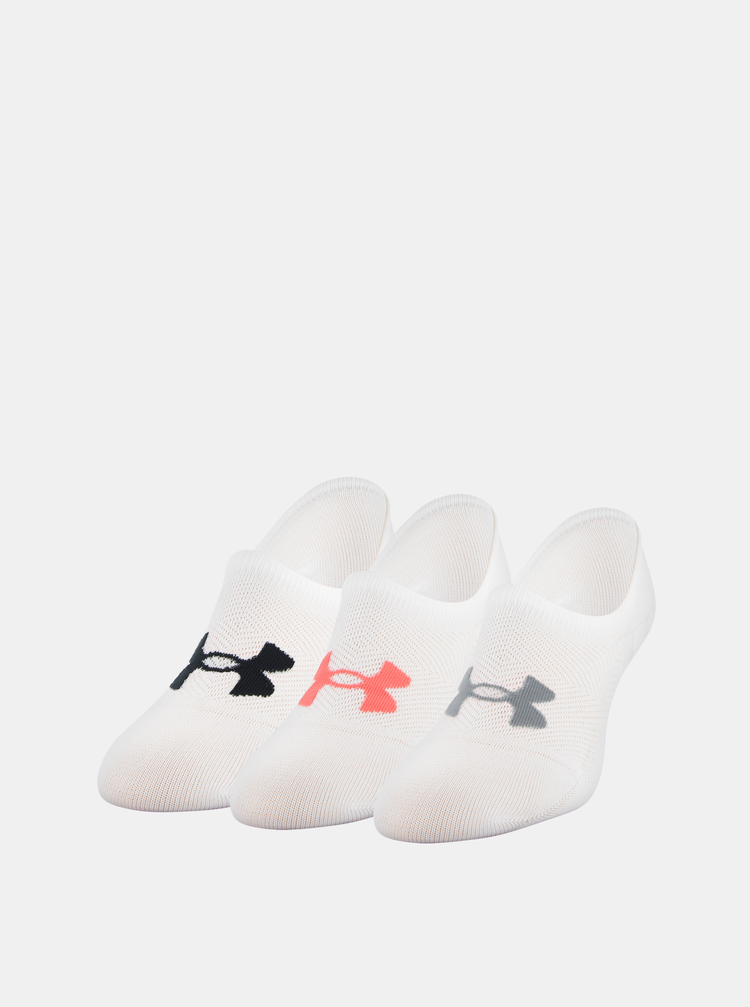Bílé dámské ponožky Essential Under Armour