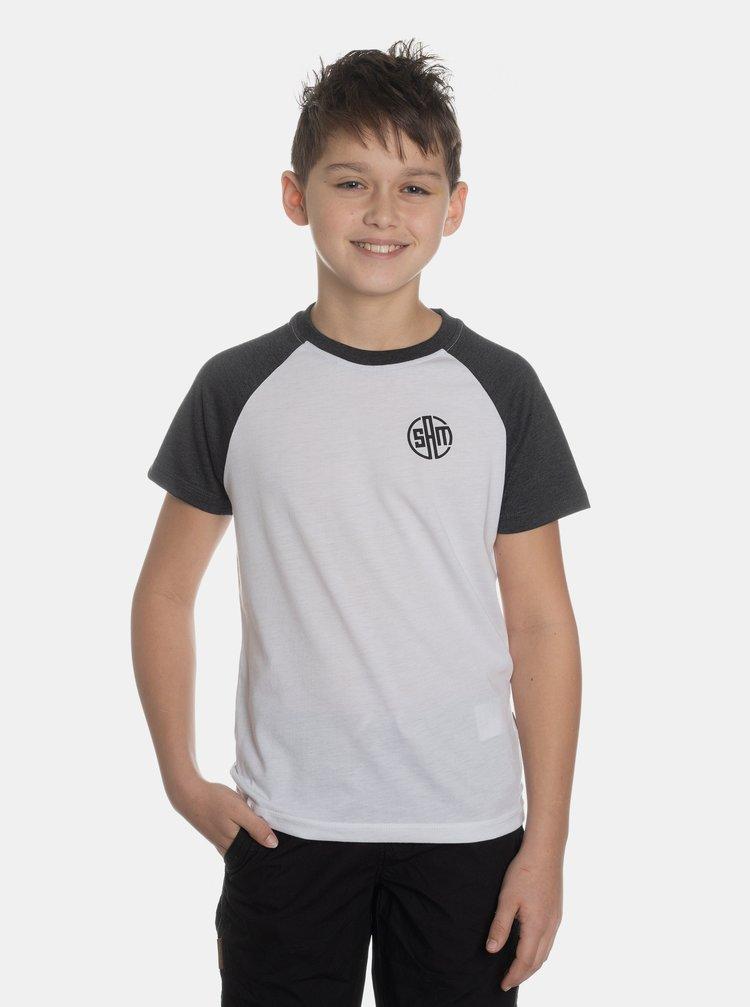 Bílé klučičí tričko SAM 73