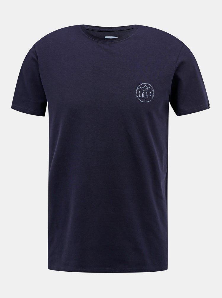 Tmavě modré pánské tričko LOAP Antti