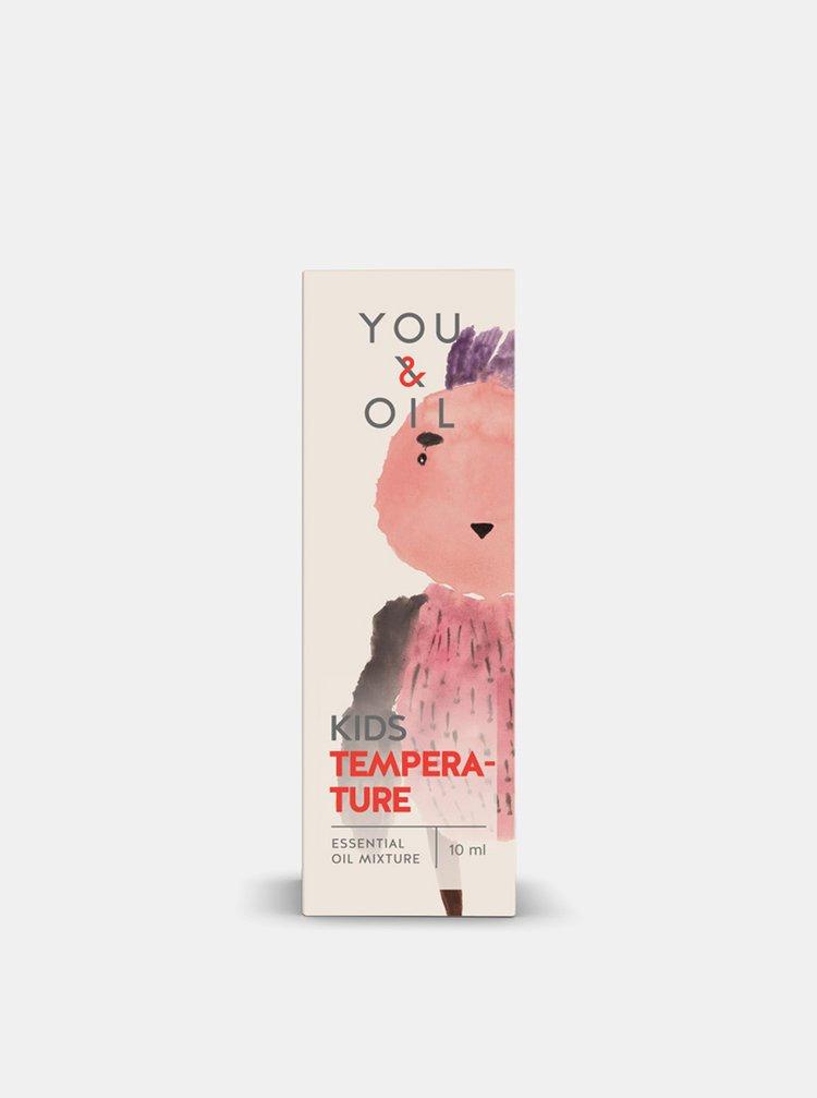 Směs esenciálních olejů KIDS Teplota 5 ml You & Oil
