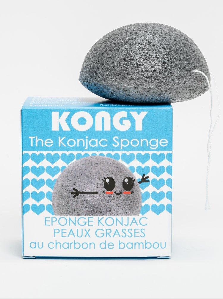 Konjaková houbička - bambusové uhlí Kongy