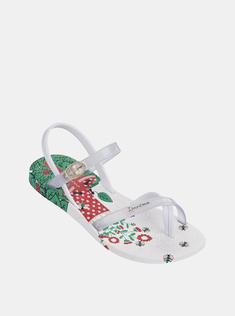 Bílé holčičí sandály Ipanema