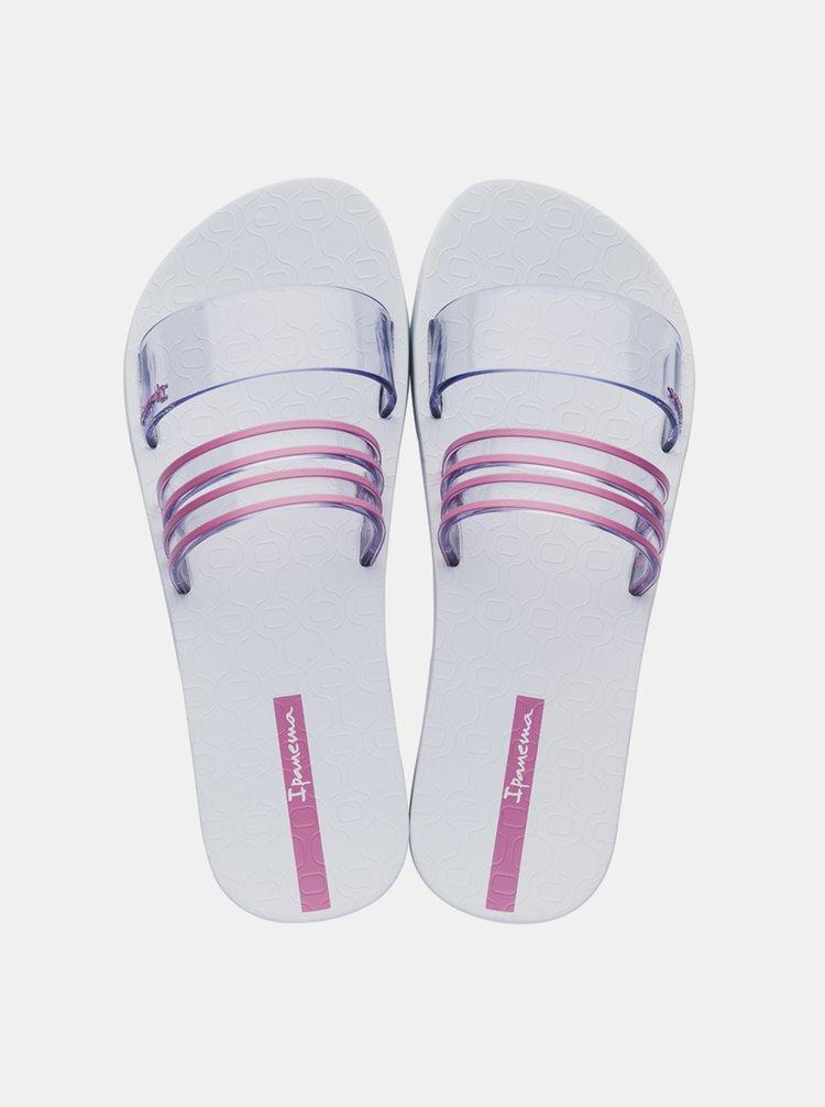 Slapi  pentru femei Ipanema - roz, alb