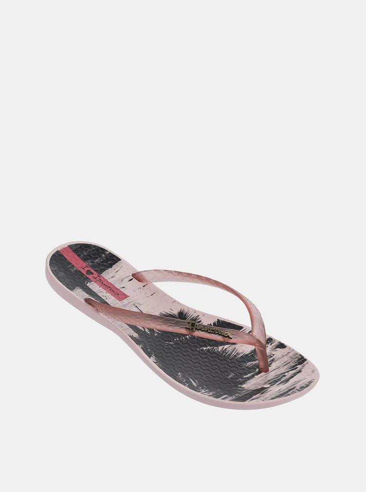Růžové dámské žabky Ipanema