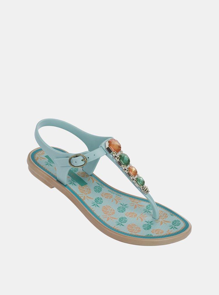 Modré holčičí sandály Grendha