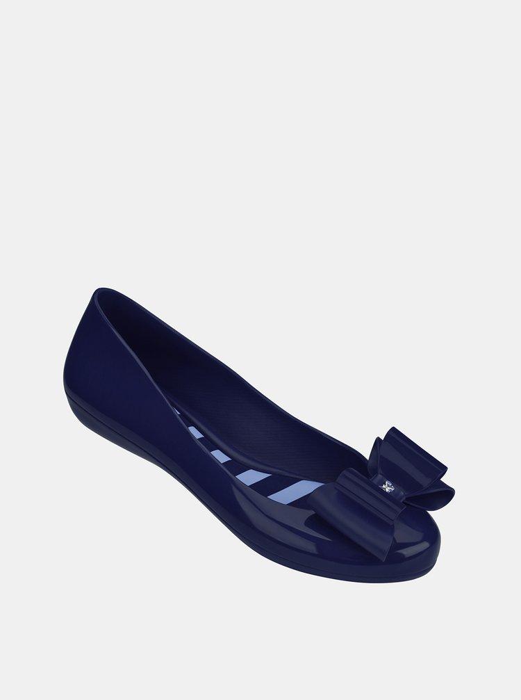 Balerini albastri Zaxy cu fundita