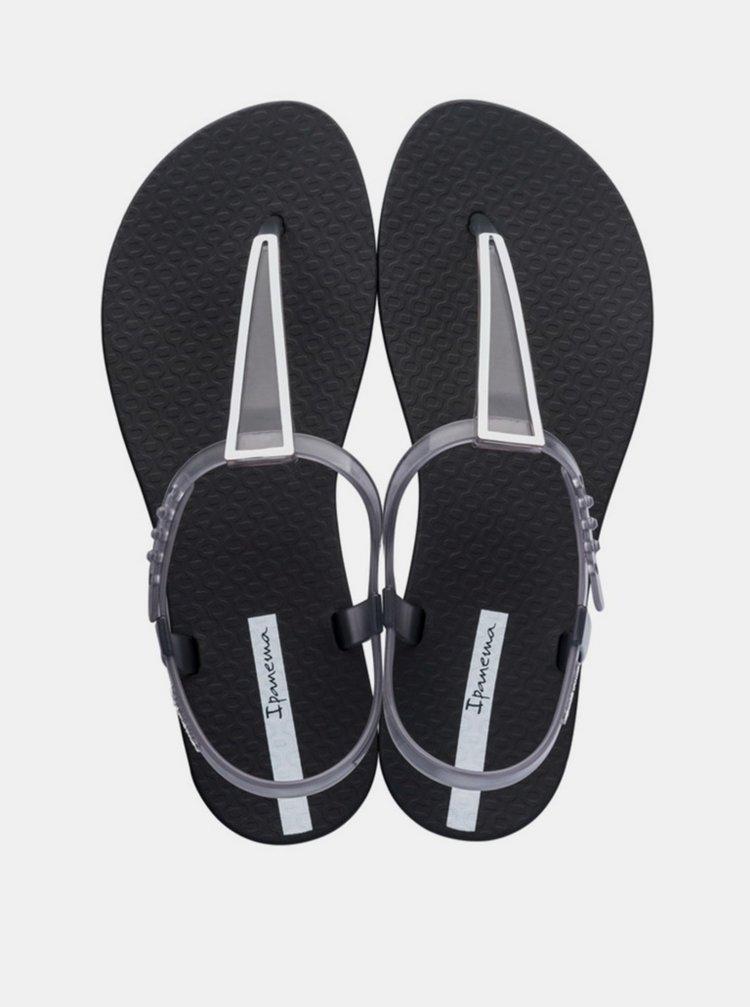 Čierne dámske sandále Ipanema