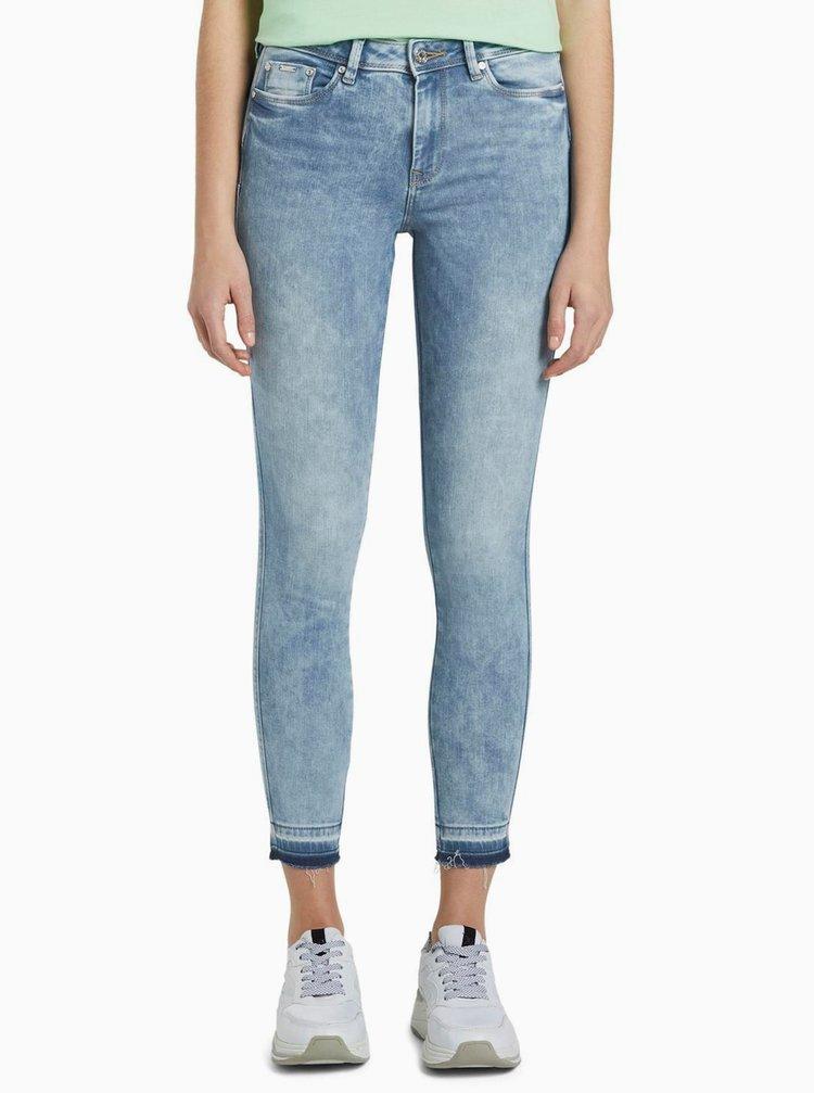 Světle modré dámské skinny fit džíny Tom Tailor Denim Nela