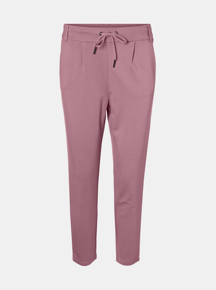 Pantaloni chino pentru femei Noisy May - roz