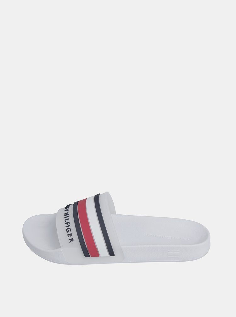 Bílé pánské pantofle Tommy Hilfiger
