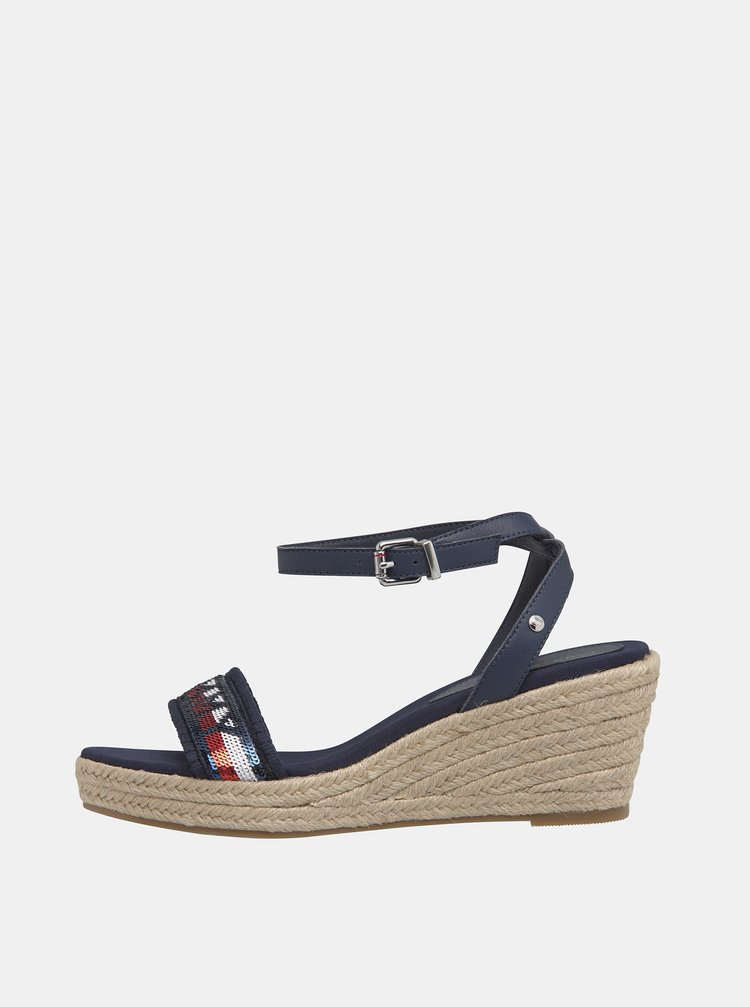 Sandale pentru femei Tommy Hilfiger - albastru inchis