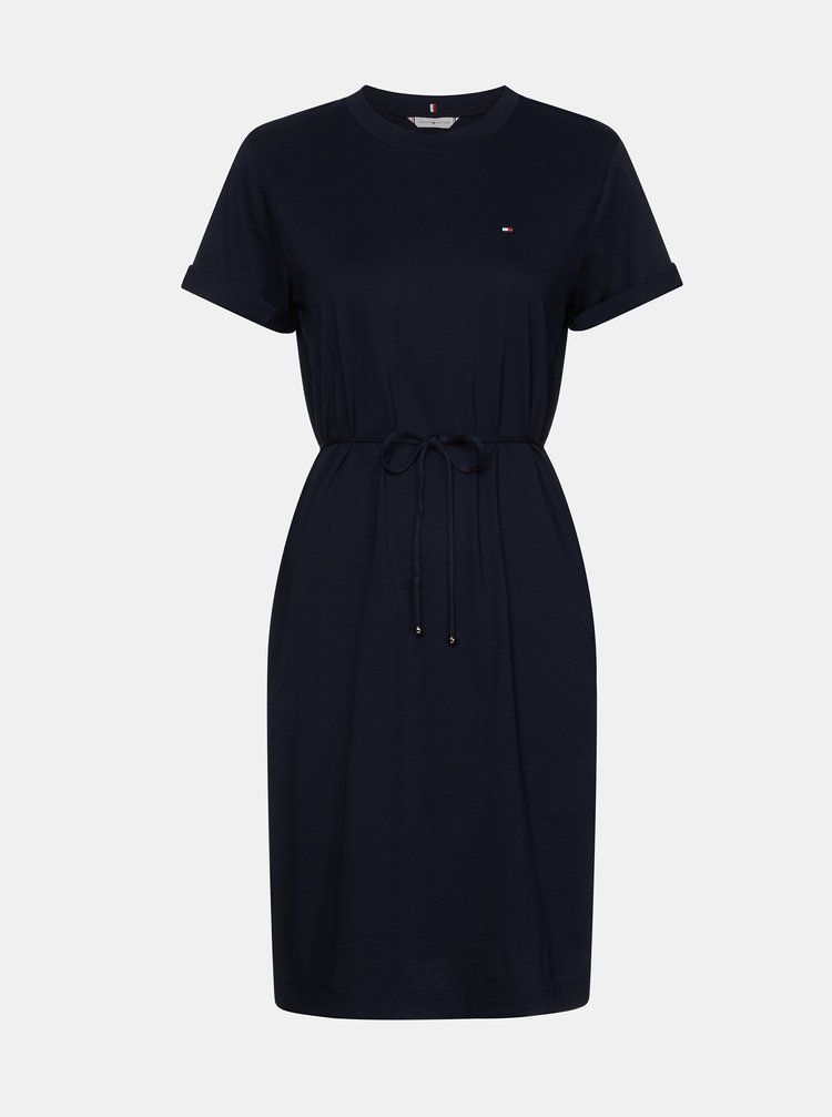 Tmavě modré šaty Tommy Hilfiger