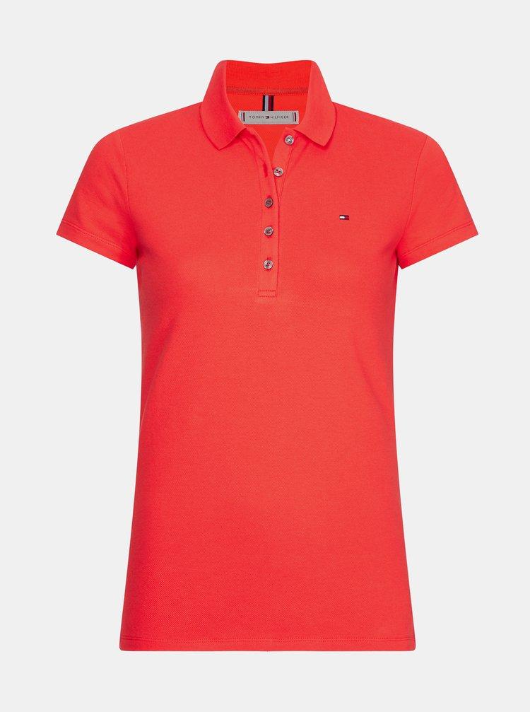 Topuri si tricouri pentru femei Tommy Hilfiger - rosu