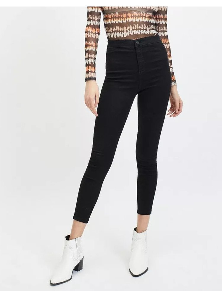 Čierne skinny fit rife Miss Selfridge