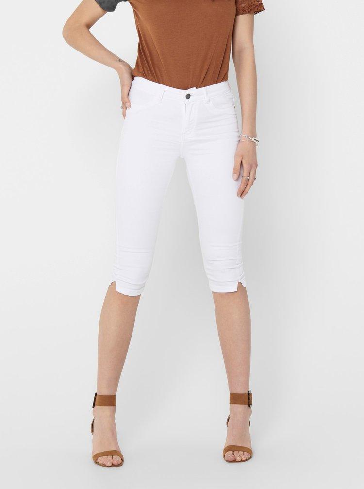 Bílé 3/4 kalhoty Jacqueline de Yong Nikki