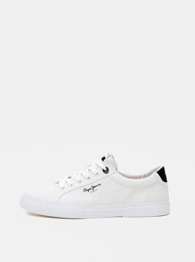 Bílé pánské tenisky Pepe Jeans