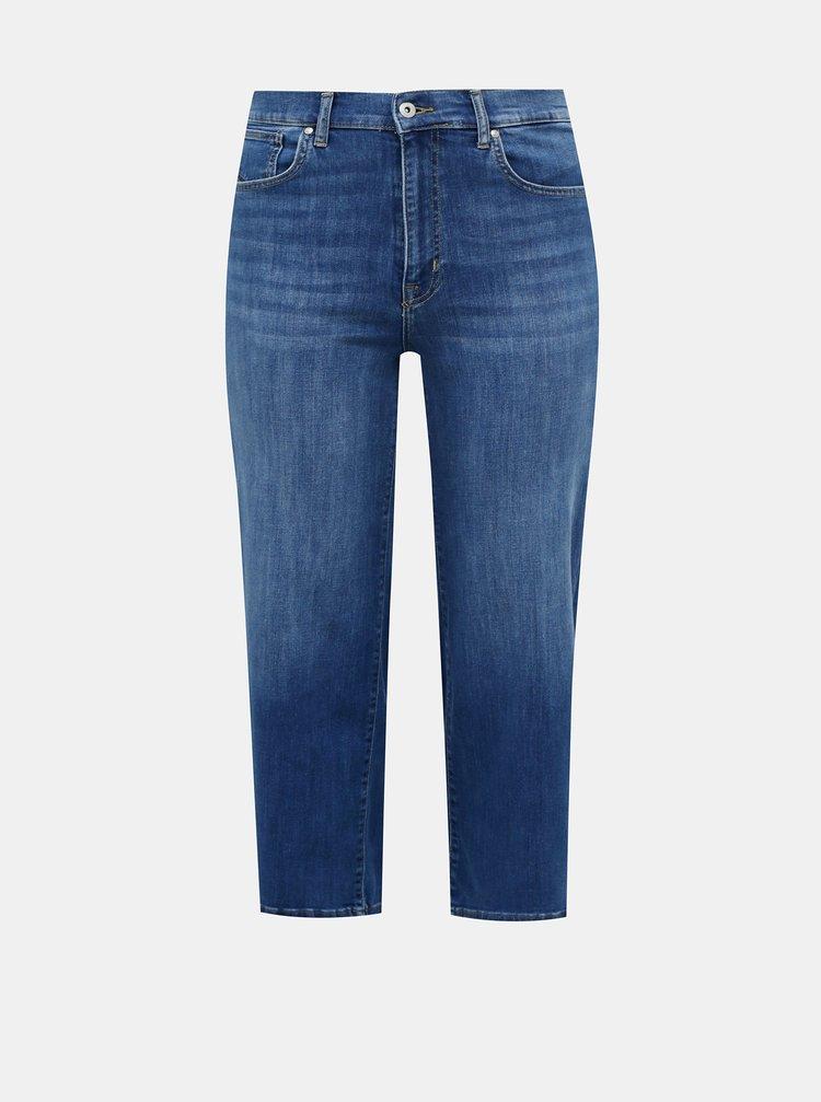 Modré zkrácené džíny ONLY CARMAKOMA Adison