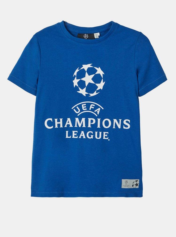 Modré klučičí tričko name it UEFA