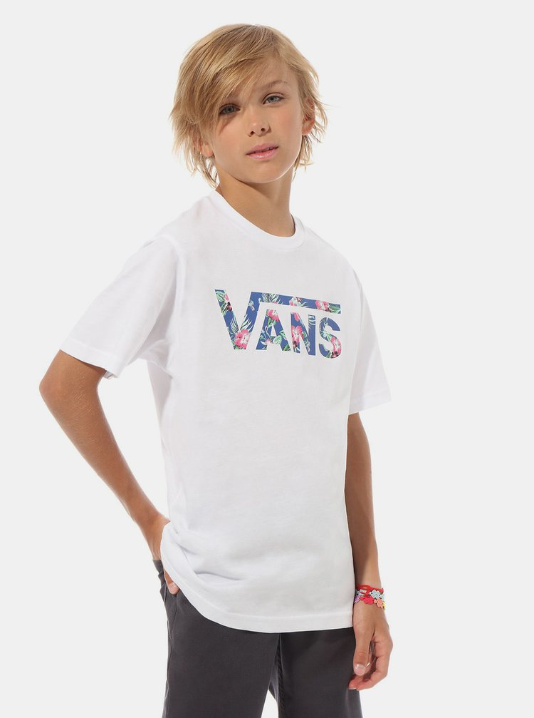 Bílé klučičí tričko VANS