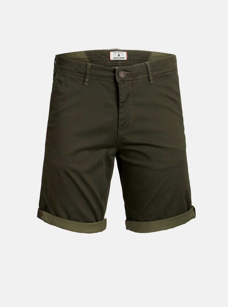 Pantaloni scurti pentru barbati Jack & Jones - kaki