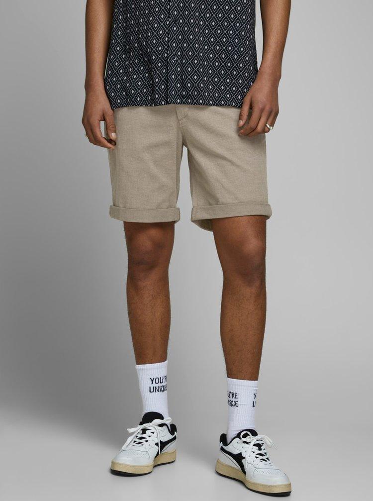 Pantaloni scurti pentru barbati Jack & Jones - bej