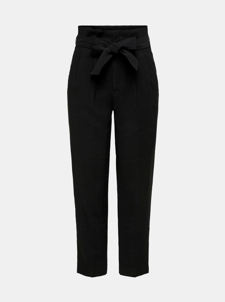 Černé kalhoty ONLY Suri