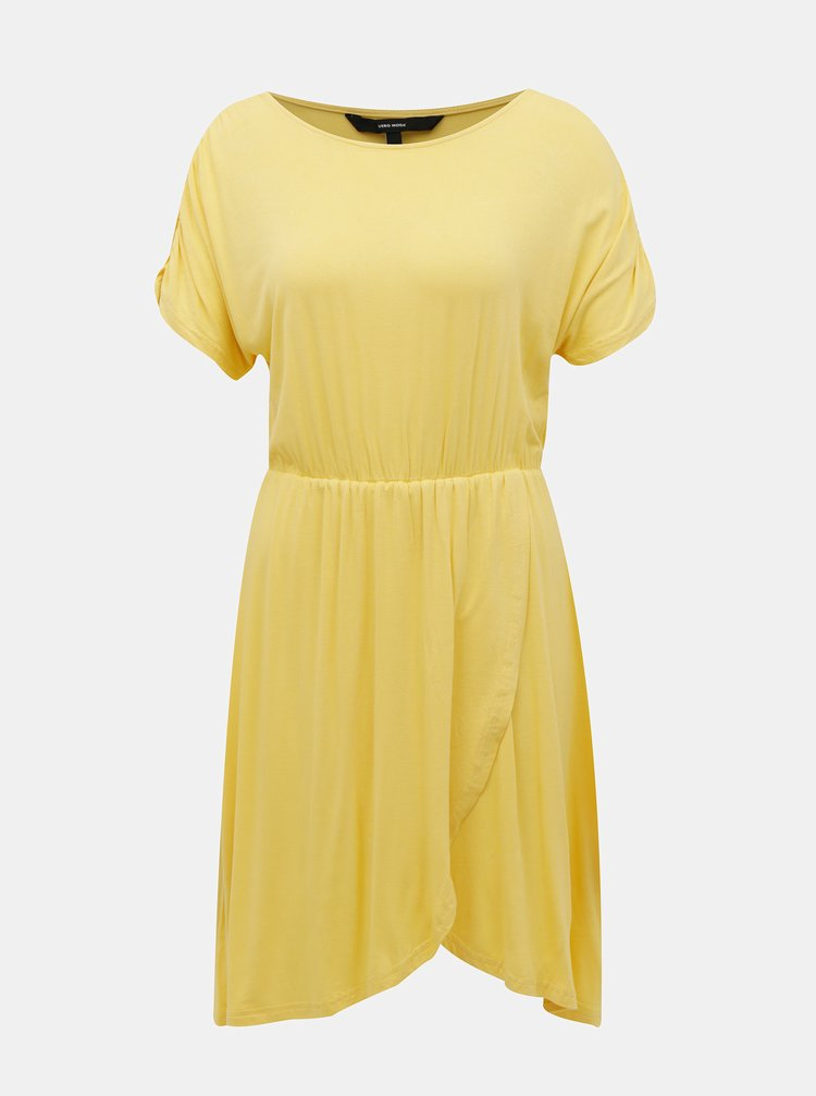 Žluté šaty VERO MODA Donna