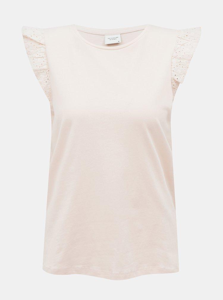 Tricouri pentru femei Jacqueline de Yong - roz deschis