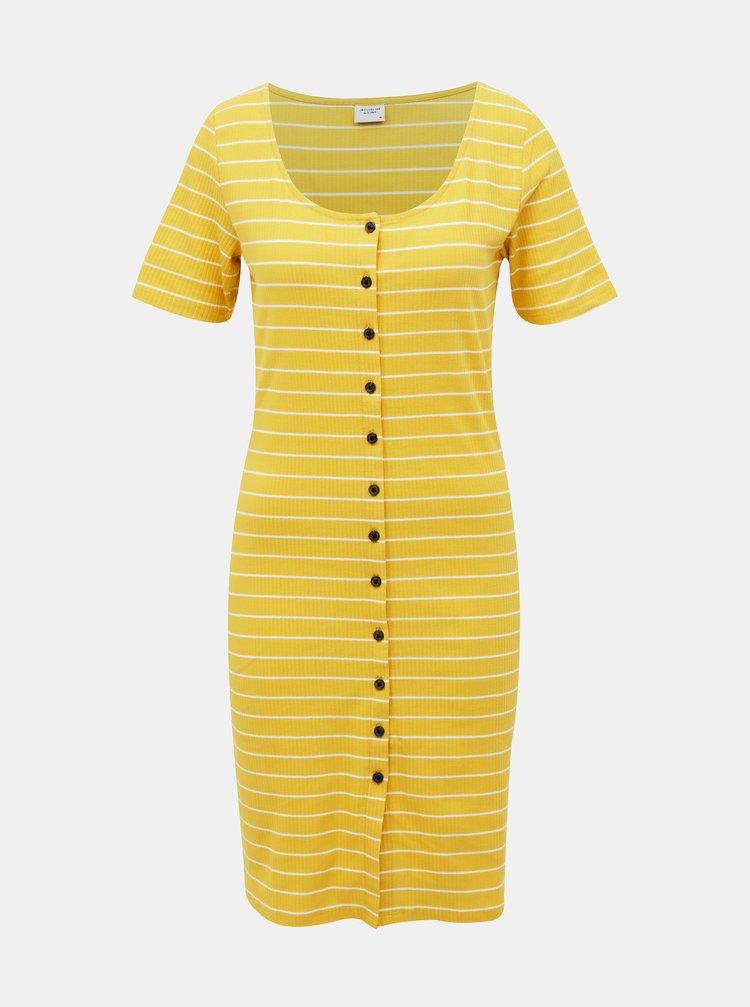 Rochii casual pentru femei Jacqueline de Yong - galben