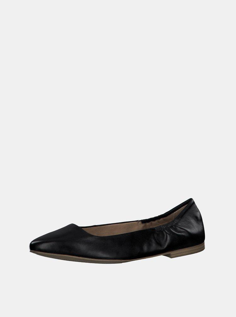 Balerini, mocasini pentru femei s.Oliver - negru